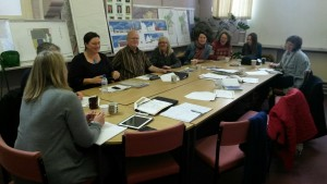 Community stakeholders and advisors.