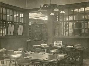 Stirchley Library, Edwardian era.