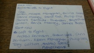 The back of the Playscheme photograph.