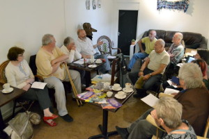 The first meeting of Stirchley History Group.