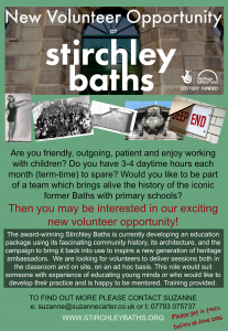 Learning Support Volunteer Poster