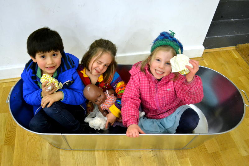 Just how many people can fit into our tin bath?