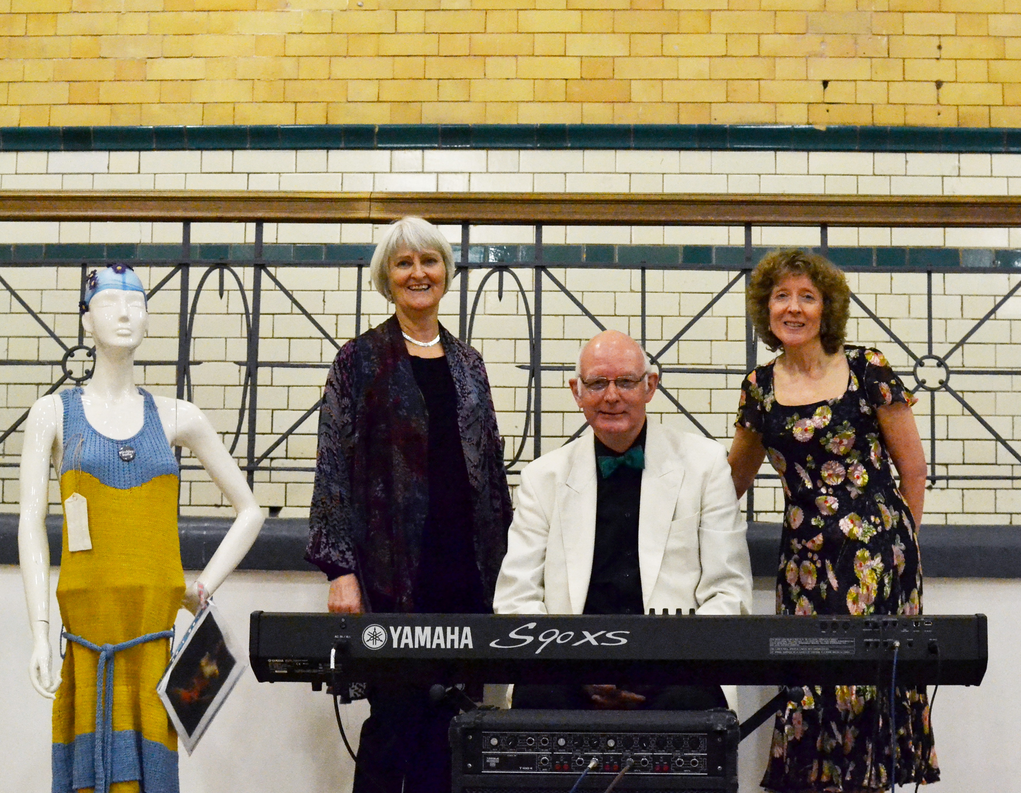 Clare Fleck, Trevor Hughes and Lois Murray: Love at the Baths performers